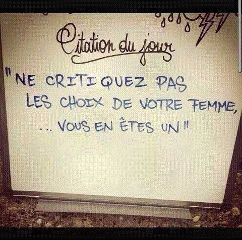 citation et blague
