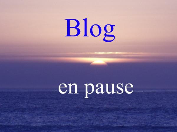 Blog en pause indéterminée