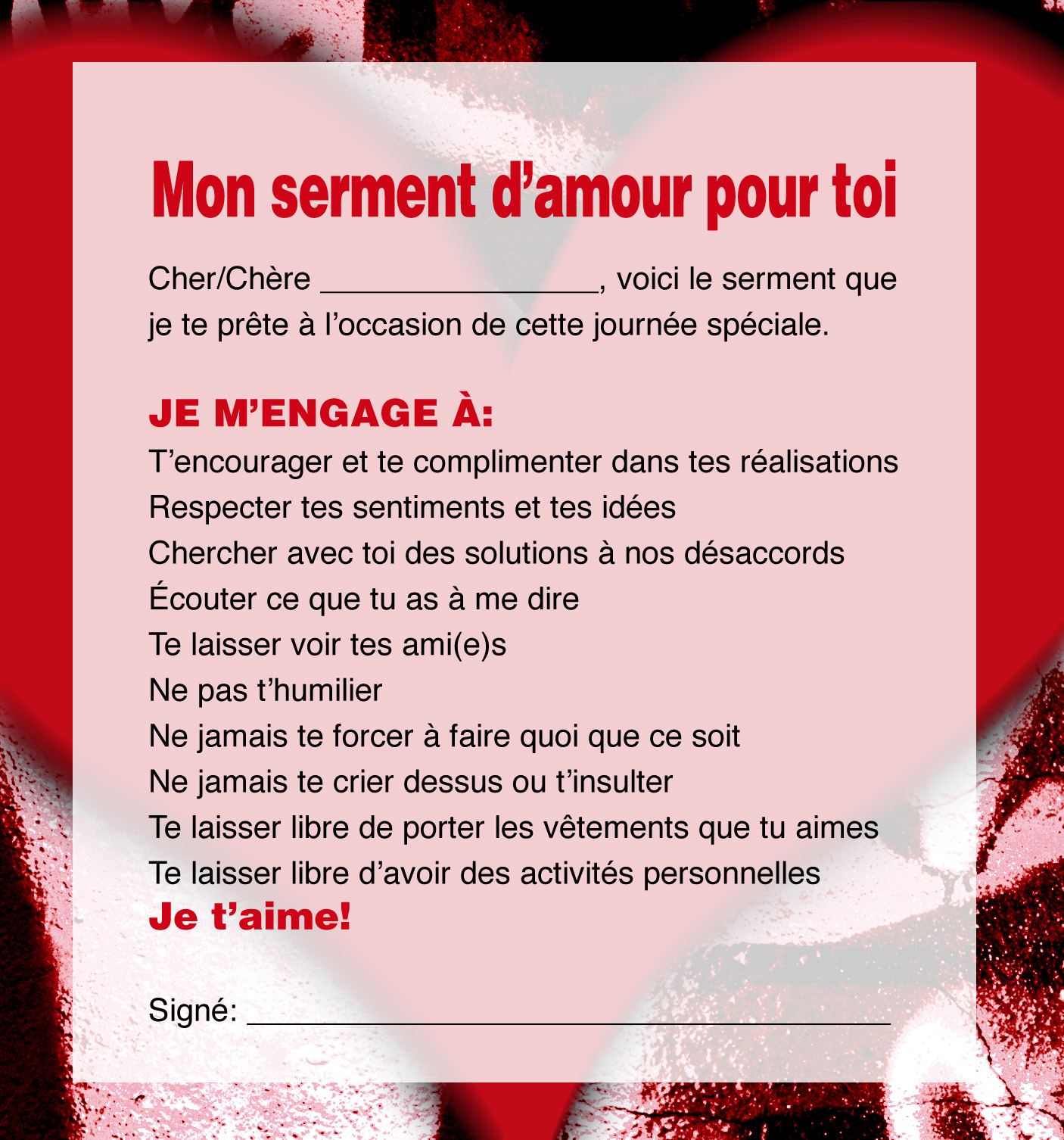 Po sie et citations d 39 amour - Parole saint valentin ...
